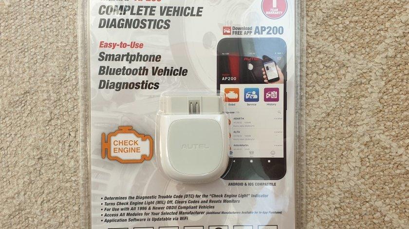 Autel MaxiAP AP200 Bluetooth OBD2 - diagnoza full + functii service