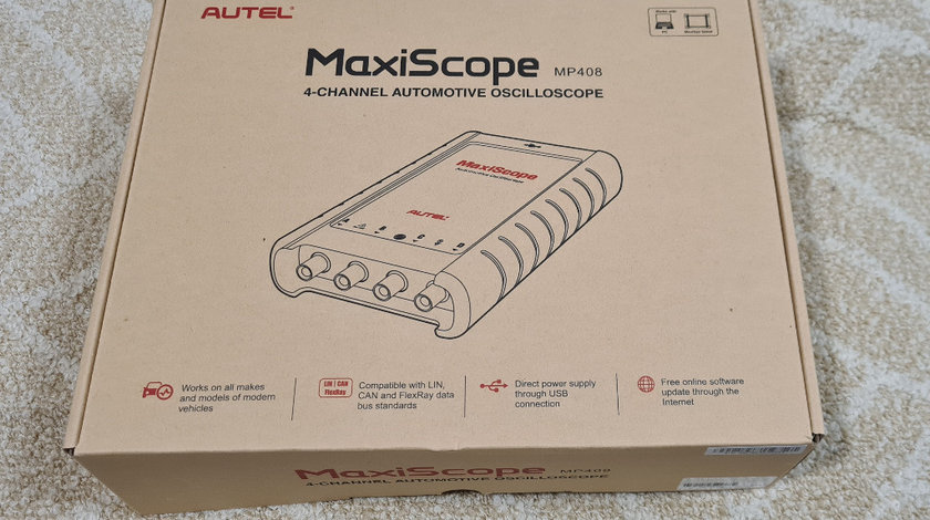 Autel MaxiScope MP408 4 Channel Automotive Oscilloscope for Maxisys Tool