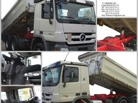 AUTOBASCULANTA  SECOND-HAND 6X4  MERCEDES 2644 an 2010+LEASING