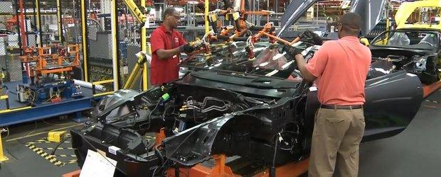 Autoblog face un tur al fabricii Corvette Stingray din Kentucky