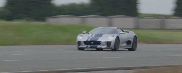 Autocar ne arata de ce e in stare fantasticul Jaguar C-X75 Concept