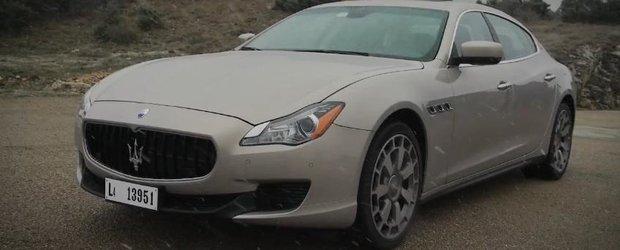 Autocar testeaza noul Maserati Quattroporte