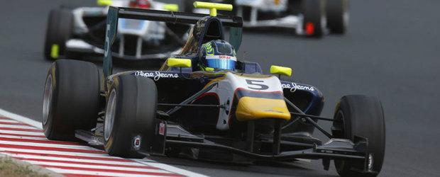 Avem cu ce sa ne mandrim: Robert Visoiu castiga cursa de GP3 de la Hungaroring