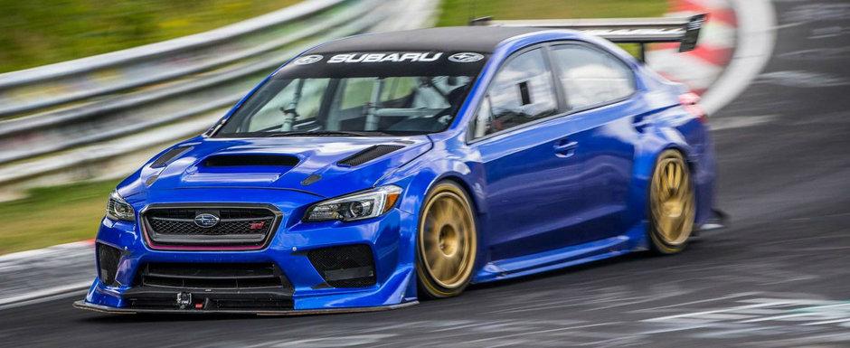 Avem dovada VIDEO. Cum a devenit noul Subaru cel mai rapid sedan de pe Nurburgring