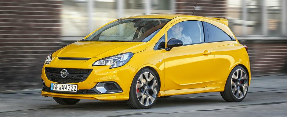 Avem informatii proaspete despre noul Opel CORSA GSi: sasiu de OPC si motor turbo cu 150 de cai