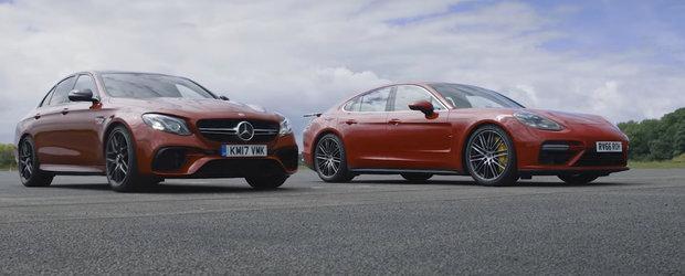 Avem la start doua dintre cele mai tari sedan-uri ale momentului. Care crezi ca trece primul linia de sosire?