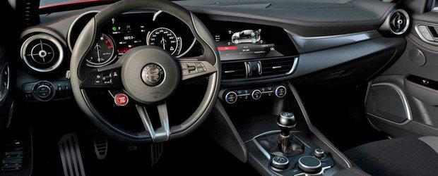Avem prima fotografie cu interiorul noii Alfa Romeo Giulia!