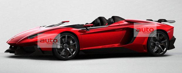 Aventador J - Surpriza Lamborghini pentru Salonul Auto de la Geneva