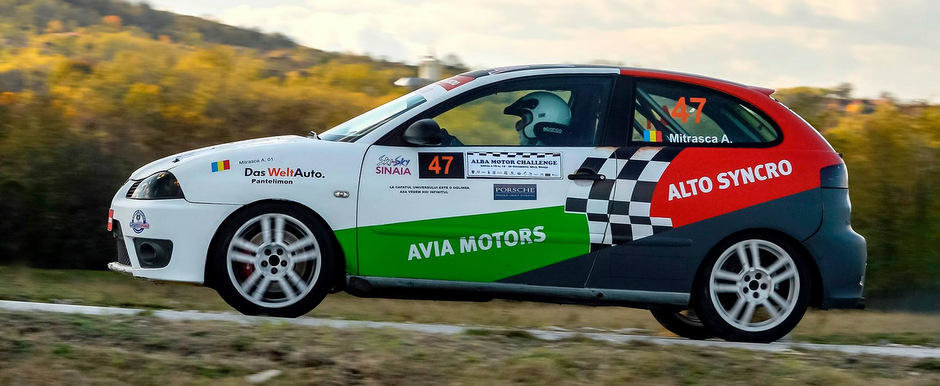 Avia Motors & Alto Syncro termina in forta Campionatul National de Viteza in Coasta 2013