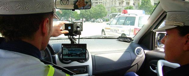 Aviz soferilor tari in gura: orice politist de la Rutiera va poate da amenda de viteza