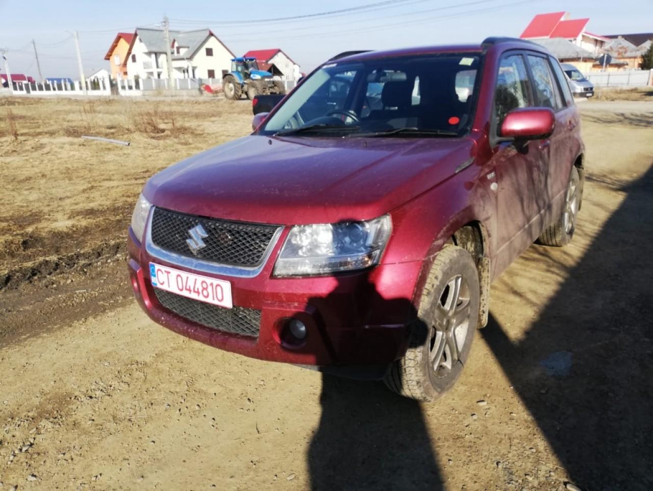 Ax came Suzuki Grand Vitara 2006 SUV 1.9DDiS F9Q