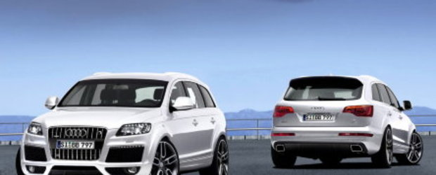 B&B modifica noul Q7 Facelift si... Q7 V12 TDI