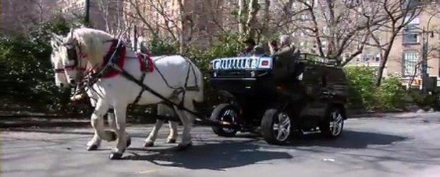 Back to the Futurama: Doi cai frumosi si un Hummer H2...