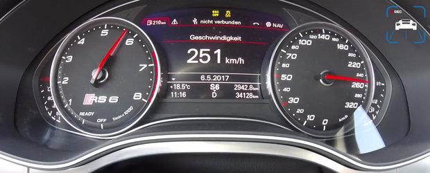 Bagi in viteza, calci acceleratia, iar cateva secunde mai tarziu gonesti deja cu peste 250 km/h. VIDEO