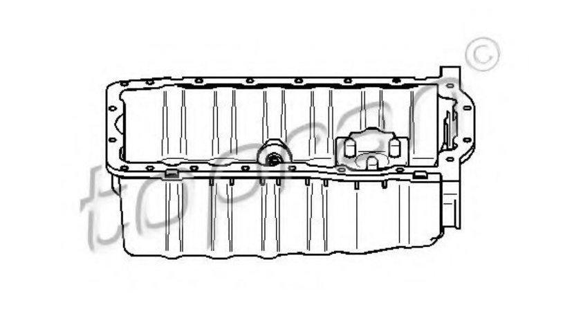 Baie ulei SEAT IBIZA III (6K1) (1999 - 2002) TOPRAN 109 615 piesa NOUA