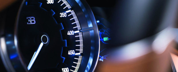 Baietii astia de la Bugatti chiar au umor. Ofera ca optiune pentru Chiron o viteza maxima de 458 km/h