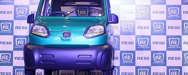 Bajaj RE60 - Rivalul de moarte al modelului Tata Nano
