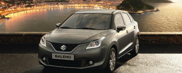 Baleno, hatchback-ul celor de la Suzuki, este de acum disponibil si in Romania