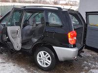 Bancheta Banchete Scaune  Piele neagra Toyota RAV4 Rav 4 2001 ~ 2005 + centuri pt. Autoutilitare