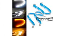 Bandă flexibilă 60cm LED DRL + semnalizare DINAM...