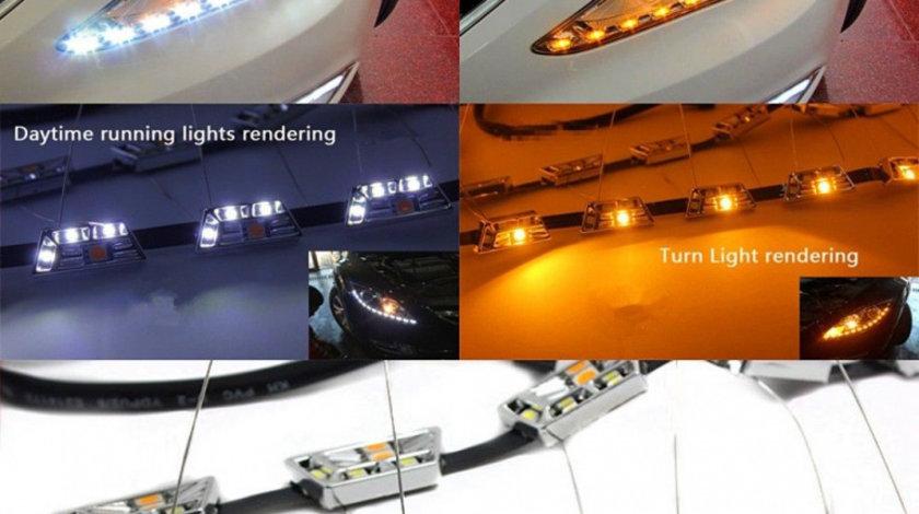 Banda LED DRL premium L1 52cm. ( Strip LED-DRL L1 ) VistaCar
