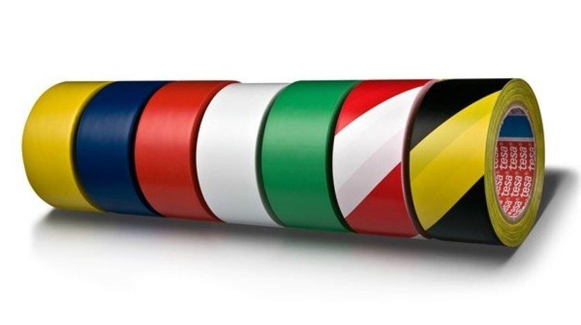 BANDA PVC GALBEN/NEGRU 33M/50MM TESA 60760-00087-15 <br>