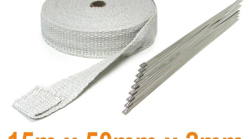Banda termoizolata ceramica 15M 50MMx2MM pana 1300°C