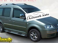 Bandouri laterale din inox Vw Caddy MAXI 2004-2015