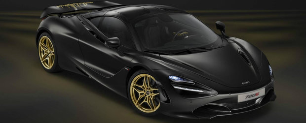 Banii n-au contat. I-a platit pe cei de la McLaren sa-i vopseasca noua masina in negru si auriu