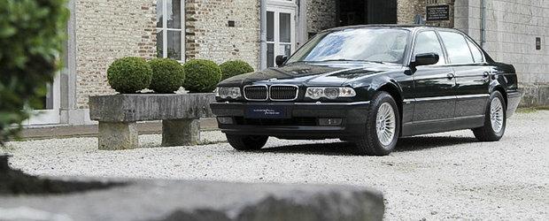 Banii nu pot cumpara fericirea, insa-ti pot aduce un BMW E38 care sa te fericeasca