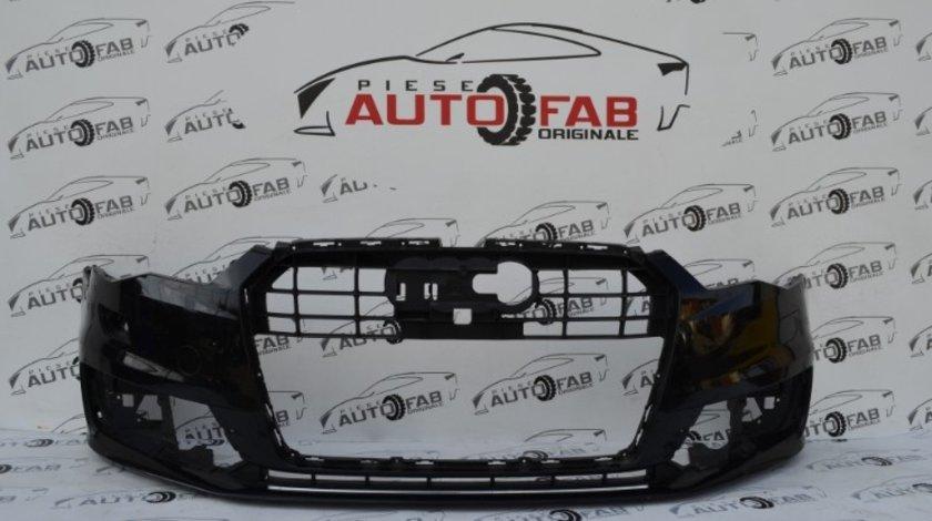 Bară față Audi A6 4G Facelift an 2015-2018 cu găuri pentru spălătoare faruri