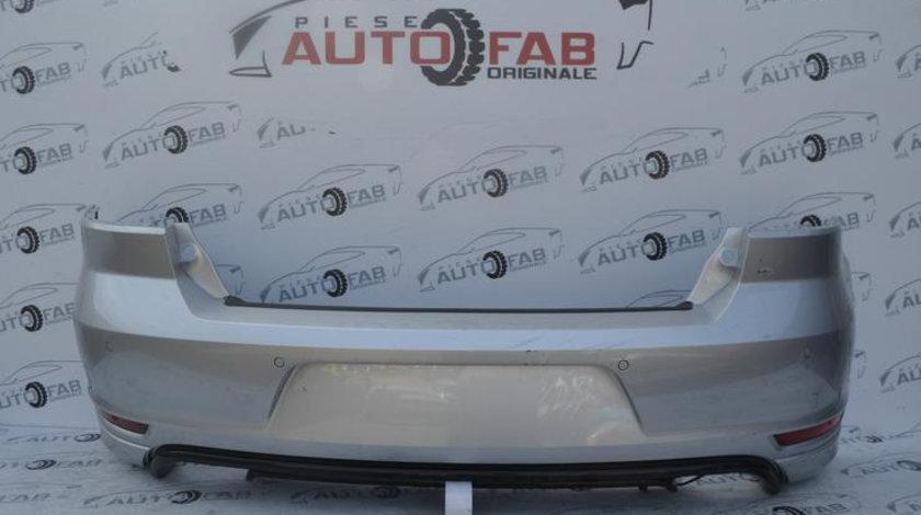 Bară spate Volkswagen Golf 6 Cabrio Gti Completă an 2009-2013 cu găuri pentru Parktronic ,include instalație senzori