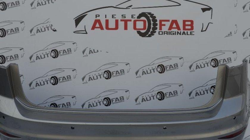 Bară spate Volkswagen Golf 7 Sportsvan an 2014-2017 cu găuri pentru Parktronic (clemă defectă)