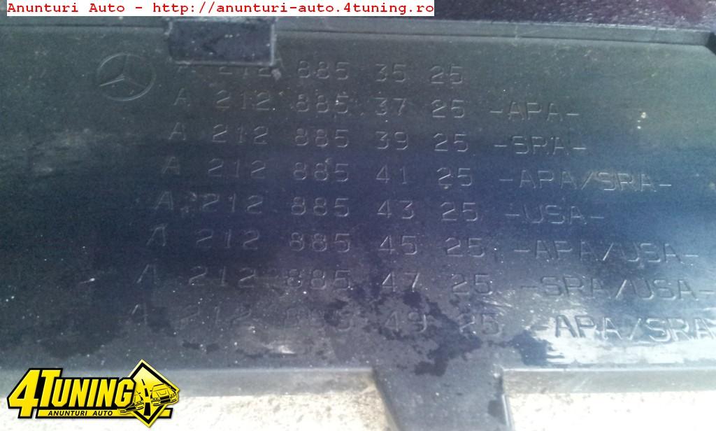 BARA FATA AMG MERCEDES E CLASS W212 2009 2013