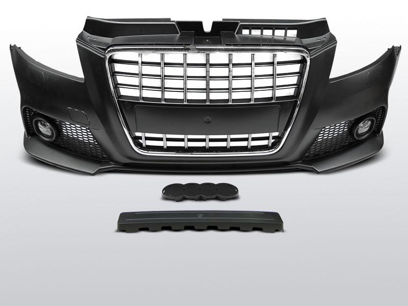 Bara fata AUDI A3 2008-2012 S8-Style Crom Negru
