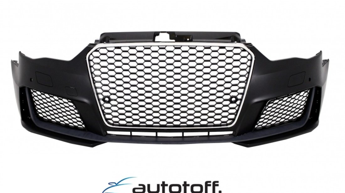 Bara Fata Audi A3 8V (2012-2015) 5D Hatchback Sportback RS3 Look Crom Black