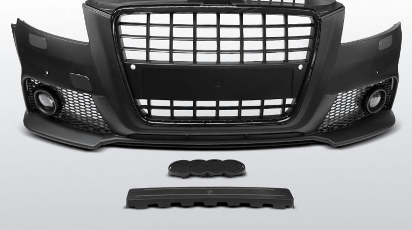 Bara fata AUDI A3 anul fabricatiei 2008-2012 tip S8 STYLE model negru