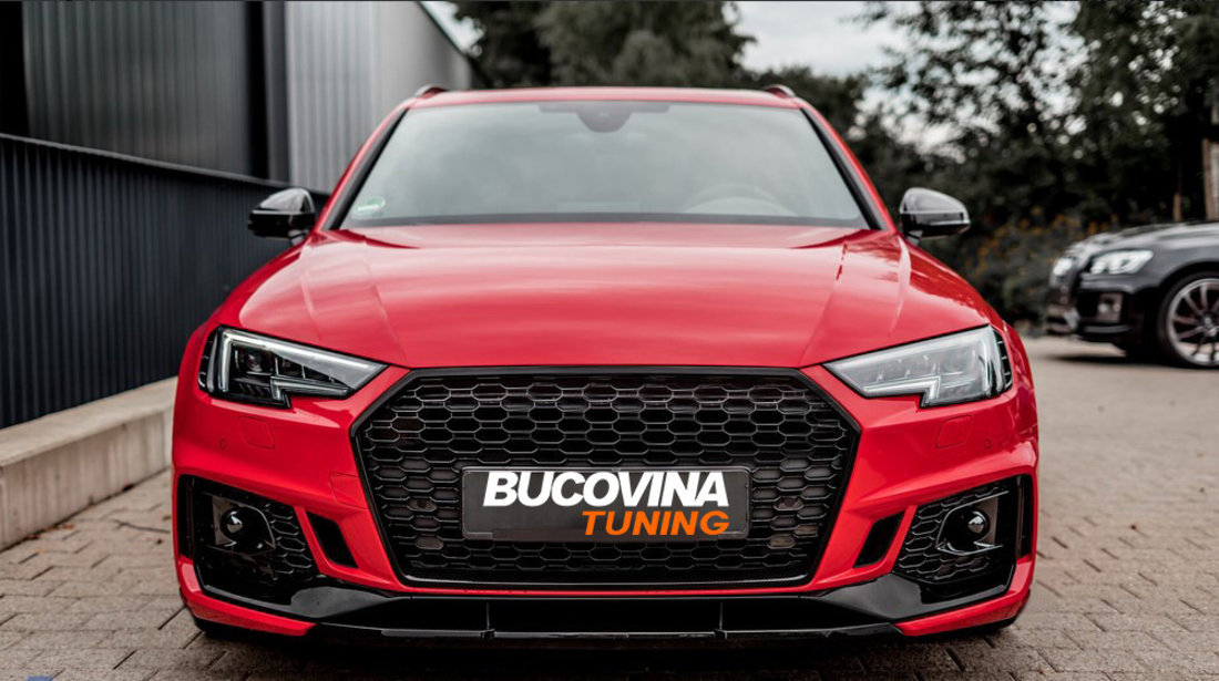 Bara fata Audi A4 8W B9 (2016-2018) RS4 Design