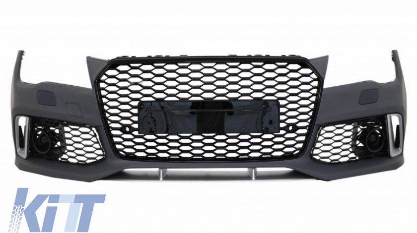 Bara Fata Audi A7 4G (2010-2014) RS7 Design cu Grile KTX2-FBAUA74GRSWOG