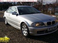 Bara fata BMW E46 Coupe Argintie completa cu proiectoare 1998 2002