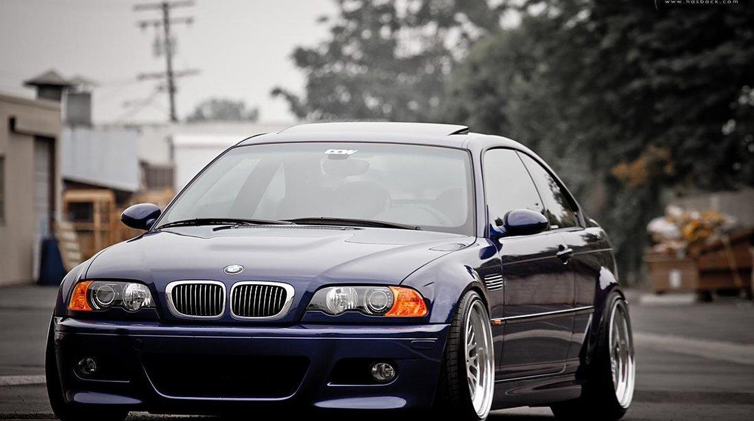 Bara Fata BMW E46 M 3 +proiectoare clare