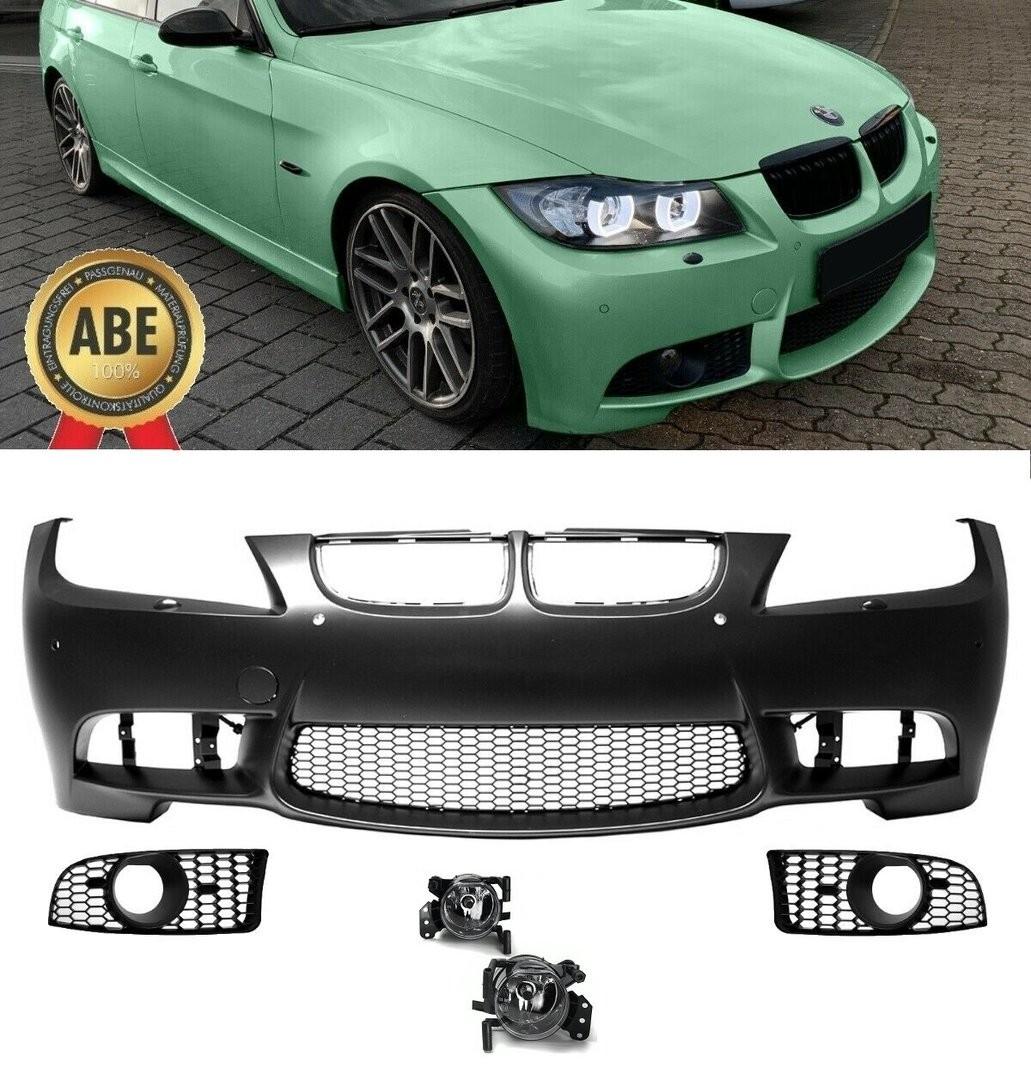 Bara fata BMW E90 Sedan si E91 Touring non LCI, M3 Design cu PDC si SRA