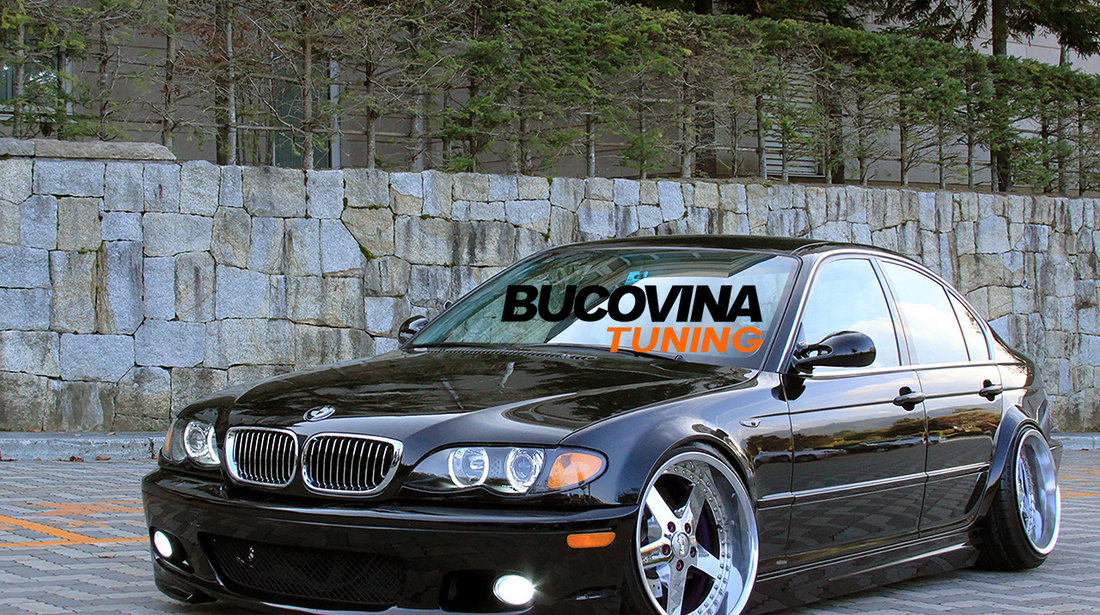 Bara fata BMW Seria 3 E46 (98-04) M Tech Design fara proiectoare