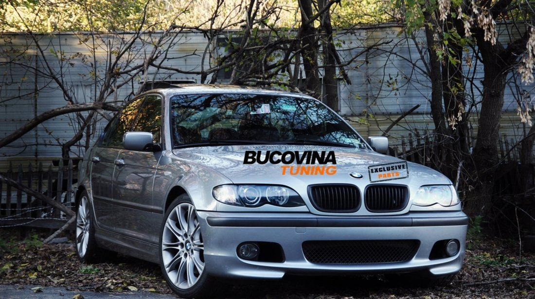 Bara fata BMW Seria 3 E46 (98-05) M-Tech Design – Fara Proiectoare