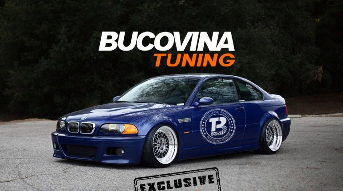Bara fata BMW Seria 3 E46 Coupe/ Cabrio (99-05) M3 Design