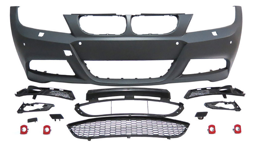 BARA FATA BMW SERIA 3 E90/ E91 FACELIFT (08-11) M-TECH DESIGN