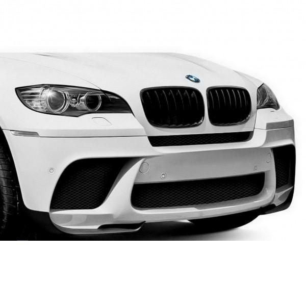 Bara fata BMW X6 E71 (08-15) M-Performance Design cu PDC