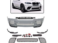 Bara fata BMW X6 E71 (08-15) M-Performance Design cu PDC