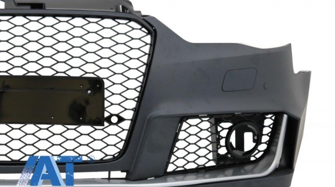 Bara Fata compatibil cu AUDI A3 8V (2012-2015) Sedan / Saloon / Convertible RS3 Brilliant Black Design