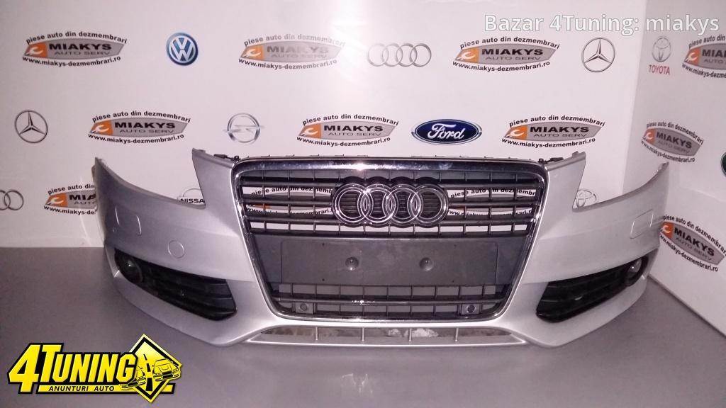 Bara fata completa Audi A4 B8 (model cu senzori/spalatori)